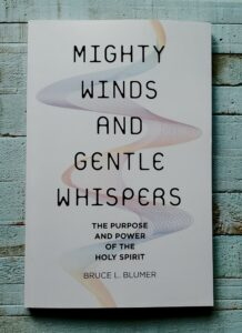 Book cover of Mighty Winds and Gentle Whispers by Bruce L Blumer